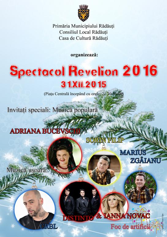 Spectacol Revelion 2016