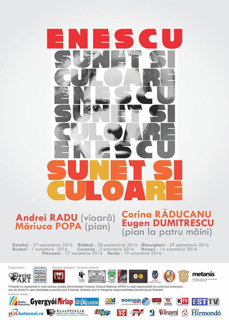 Enescu, sunet si culoare